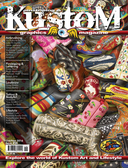Pinstriping & Kustom Graphics Magazine October 01, 2016 00:00