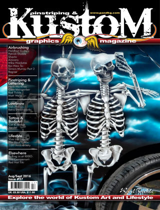 Pinstriping & Kustom Graphics Magazine 1st Aug 2016