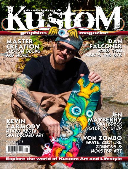 Pinstriping & Kustom Graphics Magazine September 21, 2018 00:00