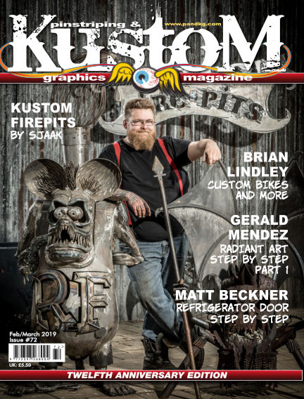 Pinstriping & Kustom Graphics Magazine January 15, 2019 00:00