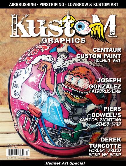 Pinstriping & Kustom Graphics Magazine May 09, 2019 00:00
