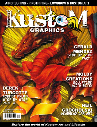 Pinstriping & Kustom Graphics Magazine 75 August 2019
