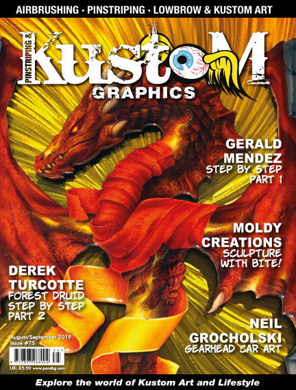 Pinstriping & Kustom Graphics Magazine July 10, 2019 00:00