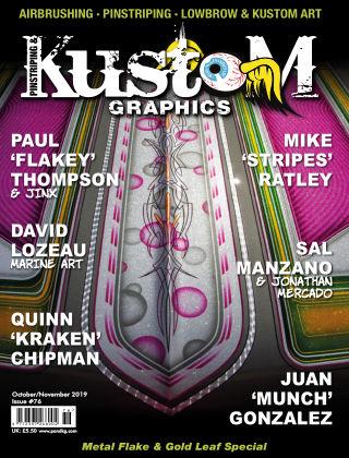 Pinstriping & Kustom Graphics Magazine Oct/Nov 2019