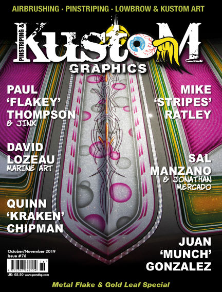 Pinstriping & Kustom Graphics Magazine September 18, 2019 00:00