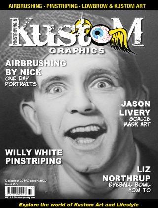 Pinstriping & Kustom Graphics Magazine Dec'19 /Jan 2020