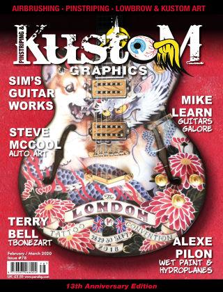 Pinstriping & Kustom Graphics Magazine 78 Feb/March 2020