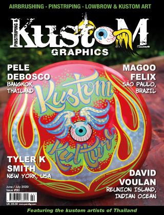 Pinstriping & Kustom Graphics Magazine 80