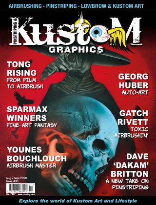 Pinstriping & Kustom Graphics Magazine 81