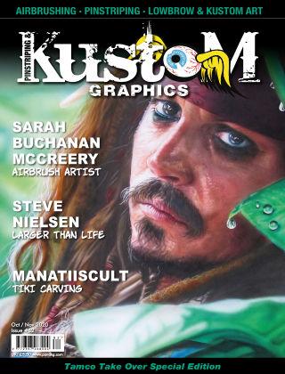 Pinstriping & Kustom Graphics Magazine 82