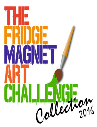 The Fridge Magnet Art Challenge Collection ISSUE 1