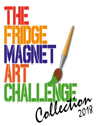 The Fridge Magnet Art Challenge Collection 2018