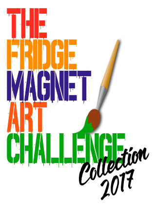 The Fridge Magnet Art Challenge Collection 2017