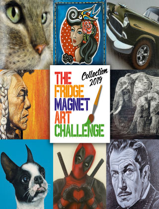 The Fridge Magnet Art Challenge Collection 2019