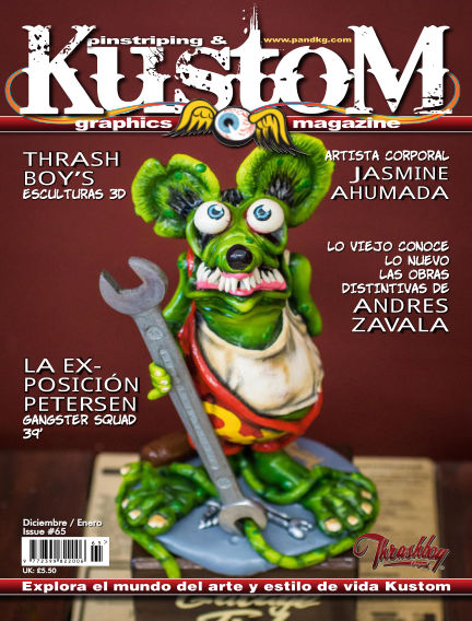 Pinstriping & Kustom Graphics Magazine - Spanish Edition