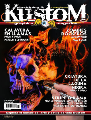 Pinstriping & Kustom Graphics Magazine - Spanish Edition Issue 05