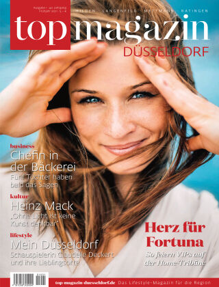 top magazin Düsseldorf 01-2021