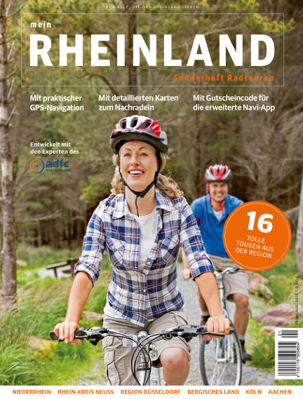 meinRHEINLAND Radtouren June 30, 2018 00:00