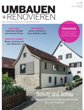 Umbauen + Renovieren (Schweiz) 04-2018
