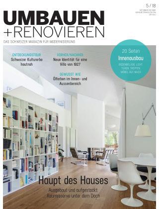 Umbauen + Renovieren (Schweiz) 05-2018