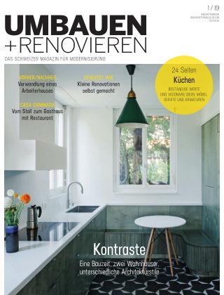 Umbauen + Renovieren (Schweiz) 1-2019