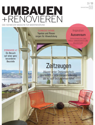 Umbauen + Renovieren (Schweiz) 03-2019