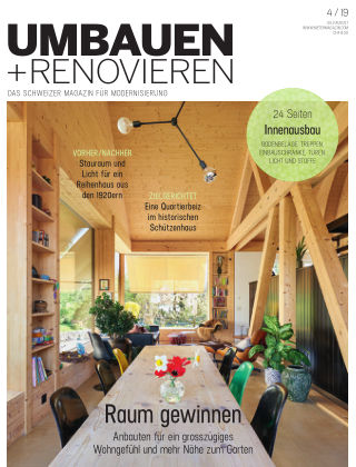 Umbauen + Renovieren (Schweiz) 04-2019