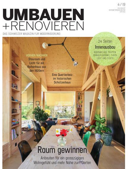 Umbauen + Renovieren (Schweiz) June 21, 2019 00:00