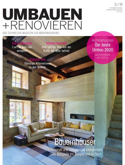 Umbauen + Renovieren (Schweiz) August 27, 2019 00:00