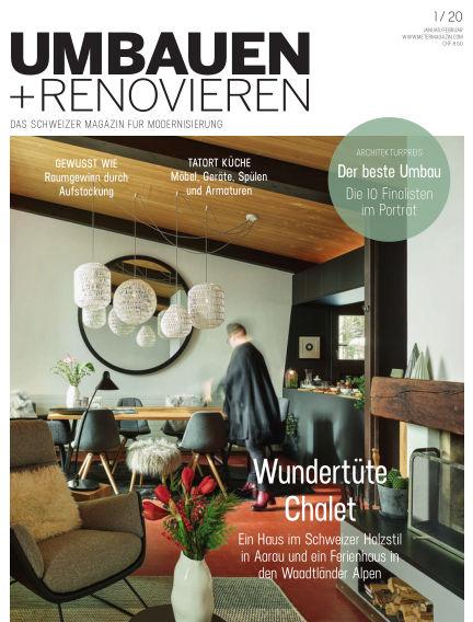 Umbauen + Renovieren (Schweiz) December 20, 2019 00:00