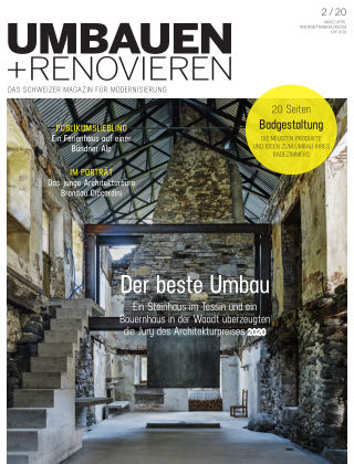 Umbauen + Renovieren (Schweiz) 2-2020