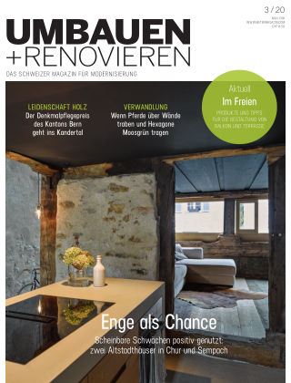 Umbauen + Renovieren (Schweiz) 3-2020
