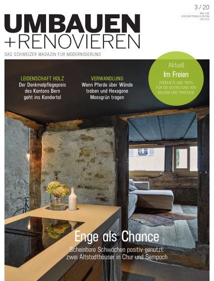 Umbauen + Renovieren (Schweiz) April 17, 2020 00:00
