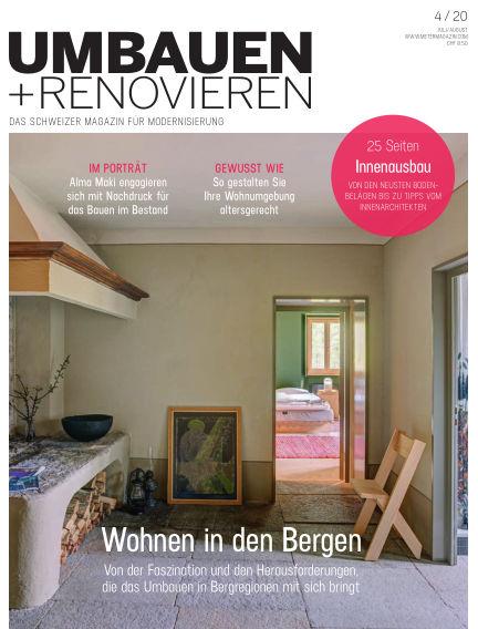 Umbauen + Renovieren (Schweiz) June 23, 2020 00:00