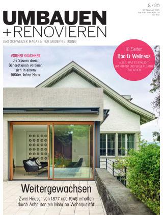 Umbauen + Renovieren (Schweiz) 5-2020