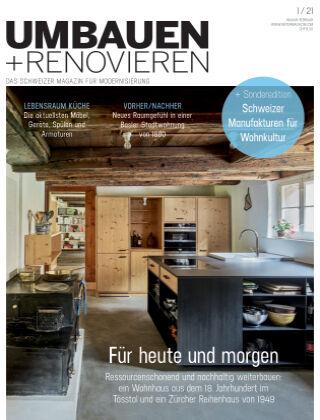 Umbauen + Renovieren (Schweiz) 1-2021