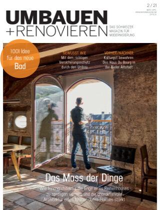 Umbauen + Renovieren (Schweiz) 2-2021