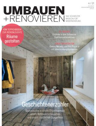 Umbauen + Renovieren (Schweiz) 4-2021