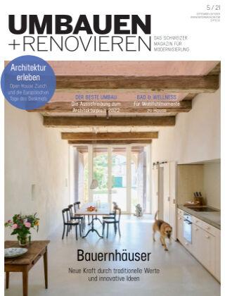 Umbauen + Renovieren (Schweiz) 5-2021