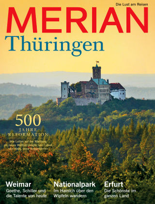 MERIAN - Die Lust am Reisen Thüringen 01/2017