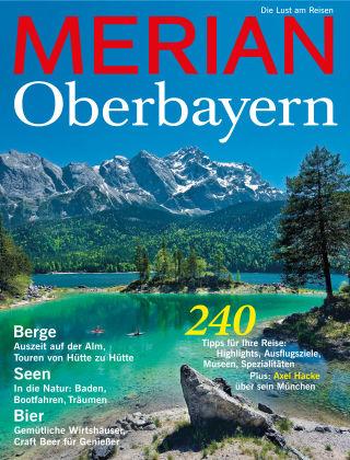 MERIAN - Die Lust am Reisen Oberbayern 04/2016
