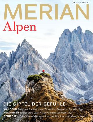 MERIAN - Die Lust am Reisen Alpen 08/19