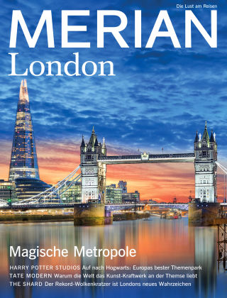 MERIAN - Die Lust am Reisen London 08/18