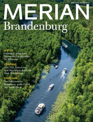 MERIAN - Die Lust am Reisen Brandenburg 11/19