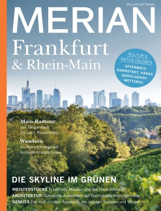 MERIAN - Die Lust am Reisen Frankfurt&Rhein-Main