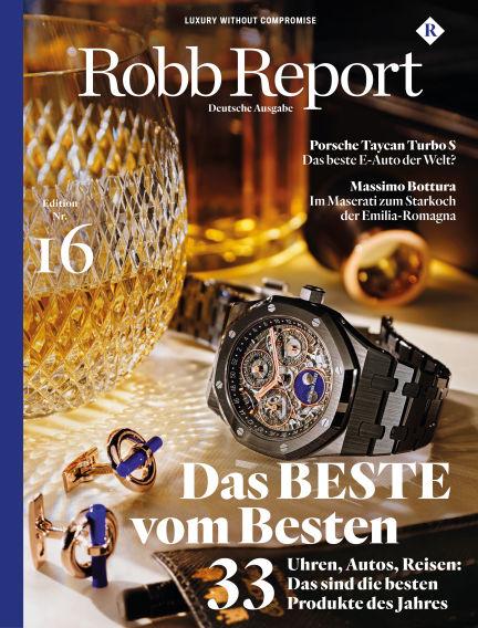 ROBB REPORT - DE November 26, 2019 00:00