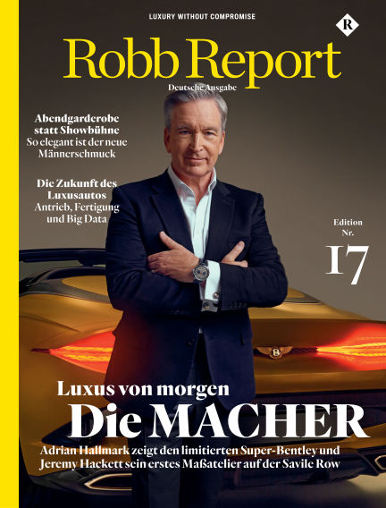 ROBB REPORT - DE March 17, 2020 00:00