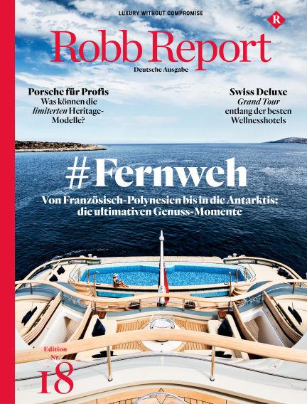 ROBB REPORT - DE July 20, 2020 00:00