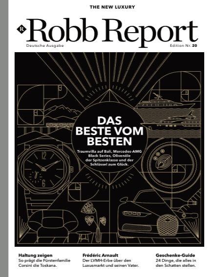 ROBB REPORT - DE November 24, 2020 00:00