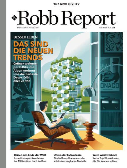 ROBB REPORT - DE May 18, 2021 00:00